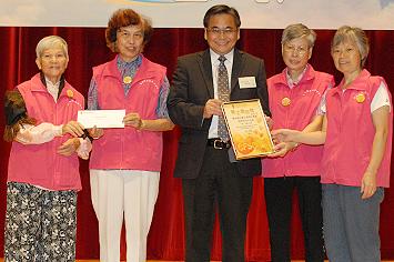 「傑出單位義工服務計劃獎-跨界別合作活動」得獎者-順安長者地區中心