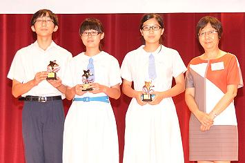 「學校社會工作部」得獎義工