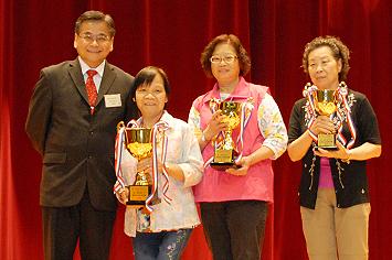 機構最高服務時數奬得獎者