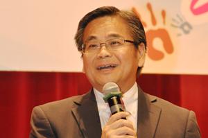 總幹事郭烈東先生致歡迎辭
