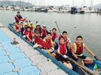 Cheerful Place District Support Centre (Kwun Tong East) Dragon Boat Team 2013