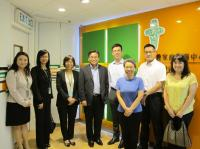 Gilford LAW, JP, District Officer (Kwun Tong) Visited CFSC