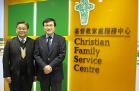 美國Presbyterian Church Rev. Choonshik Lim 探訪CFSC