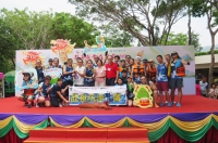 Cheerful Place Dragon Boat Team awarded in Sai Kung Tuen Ng Festival Race