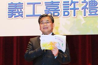 本會總幹事郭烈東先生JP致歡迎辭