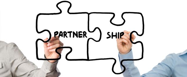 成为企业伙伴