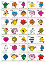 Mr. Men Little Miss系列 旗紙一張