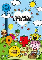 慈善限量版Mr. Men Little Miss 文件套兩個