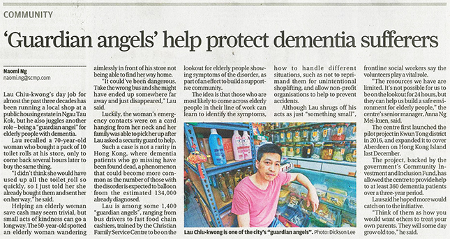 'Guardian Angels' help protect dementia sufferers