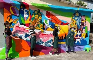 「鯉魚門壁畫藝術村」美化社區