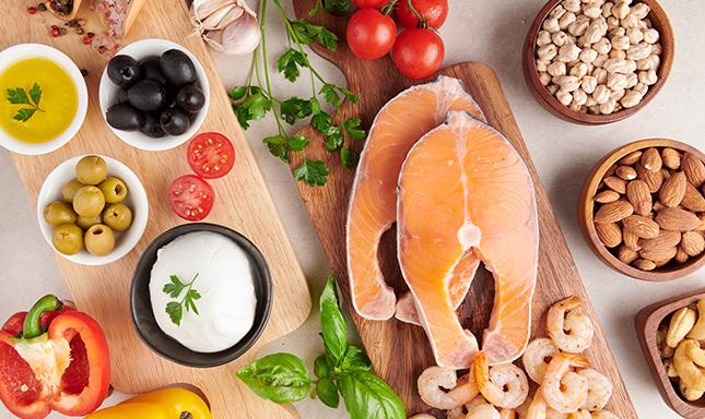 紓壓飲食法 — 地中海飲食法
