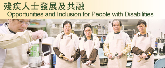 Opportunities and Inclusion for People with Disabilities