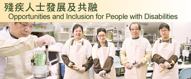 殘疾人士發展及共融