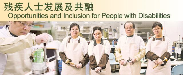 残疾人士发展及共融